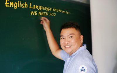 English Language Instructor Available