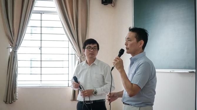 Ông Kuroda Satoru phát biểu tại hội thảo