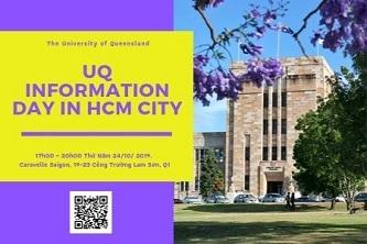 Đại học Queensland (Úc) tổ chức ngày hội thông tin tại TP.HCM