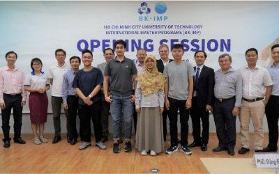 Chương trình Thạc sĩ CLC (BK-IMP) tổ chức Opening Session