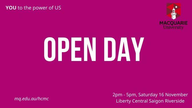 Macquarie Open day