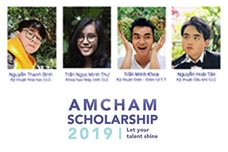 SV Bách khoa Quốc tế đạt học bổng AmCham 2019