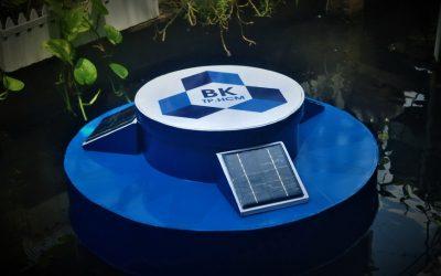 SV Bách khoa làm trạm quan trắc thông minh đo ô nhiễm nước