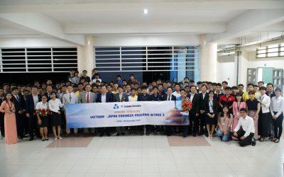 OISP long trọng tổ chức lễ khai giảng khóa 3 chương trình VJEP