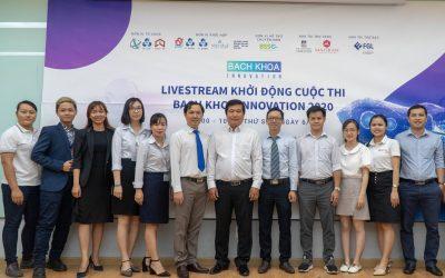 Livestream khởi động cuộc thi Bach Khoa Innovation 2020