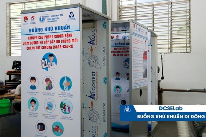 Trường ĐH Bách khoa chế tạo nhiều sản phẩm phòng chống SAR-CoV-2