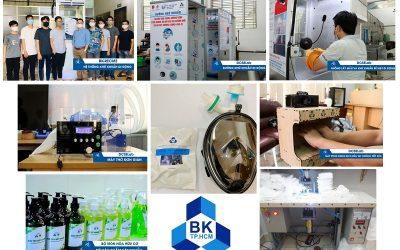 Trường ĐH Bách khoa chế tạo thành công nhiều sản phẩm phòng chống SARS-CoV-2