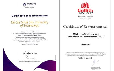 OISP là đối tác toàn diện của ĐH Queensland và Griffith (Úc)