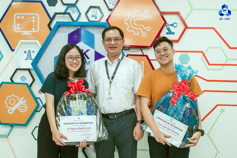 Trao thưởng SV OISP đoạt giải Google Solution Challenge 2020