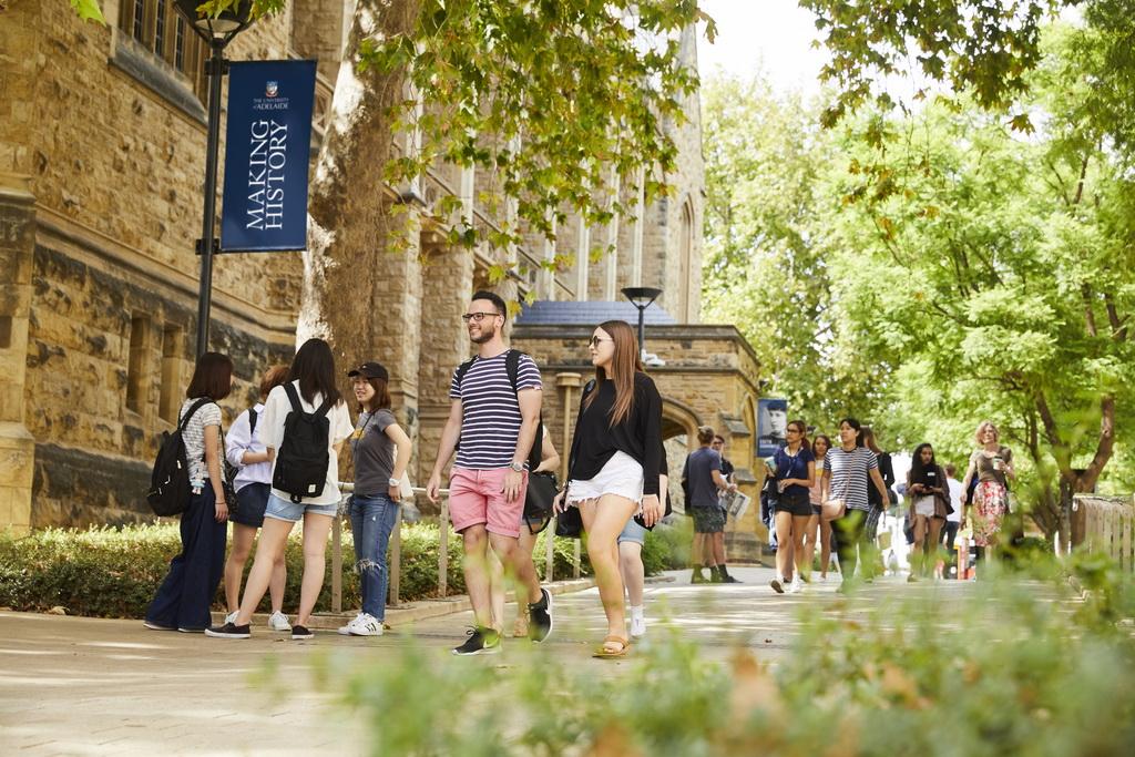 Nam Úc đón du học sinh trở lại - The University of Adelaide - chương trình Liên kết Quốc tế - Trường Đại học Bách khoa