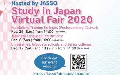 Mời dự Hội thảo Du học Nhật Bản 2020 cùng JASSO