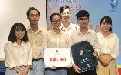 SV Môi trường Chất lượng cao đạt Giải Nhì cuộc thi Sáng tạo vì biển đảo quê hương