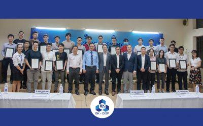 Lễ bế giảng JFE Lecture Series for Development of Steel Structure Engineers | Trường Đại học Bách khoa | chương trình Chất lượng cao | Kỹ thuật Xây dựng