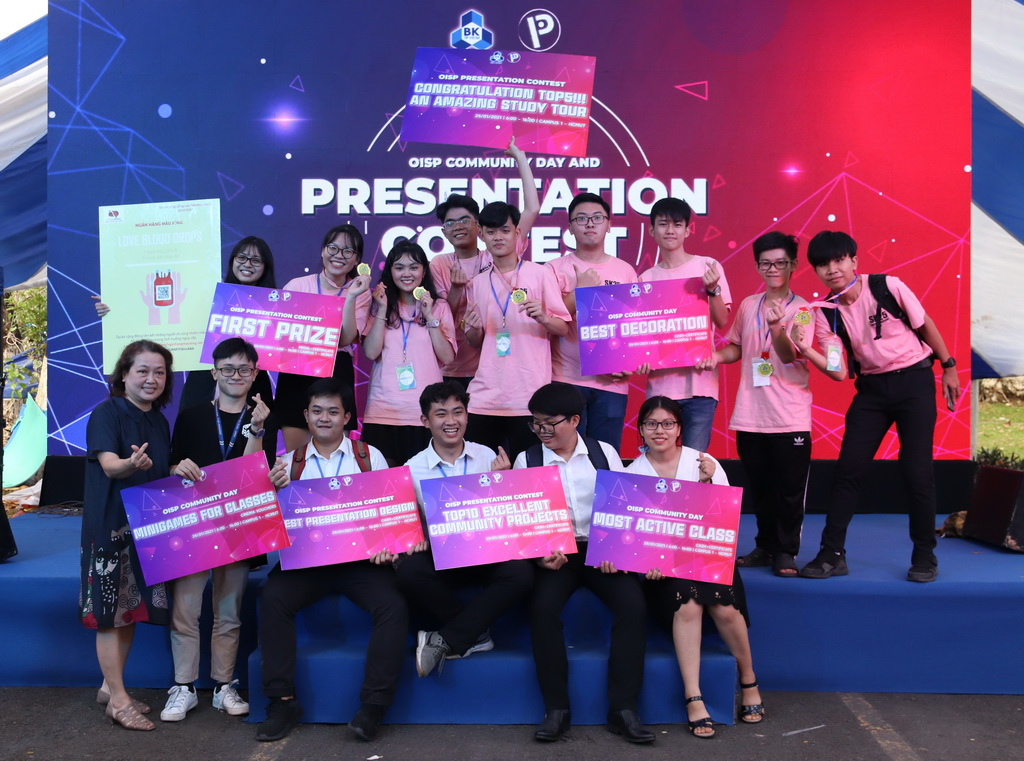 OISP Community Day & Presentation Contest 2020 | Bách khoa Quốc tế | Pre-University