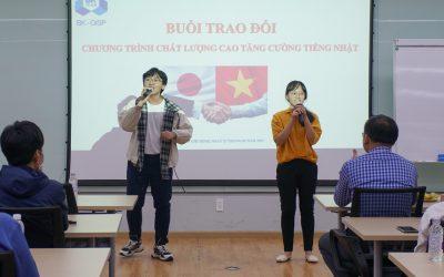 Sinh viên Chất lượng cao Tăng cường Tiếng Nhật gặp gỡ Đại học Công nghệ Nagaoka