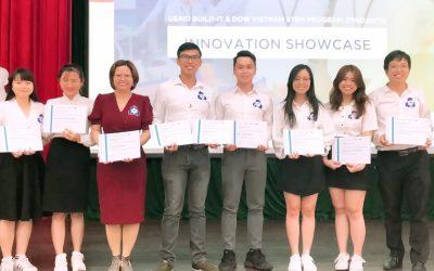 SV Bách khoa đạt giải thưởng URI và Eproject của USAID
