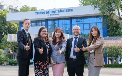 Ra mắt Core Team Tiếng Anh OISP - chương trình Chất lượng cao - Trường Đại học Bách khoa - Học kỳ Pre-University