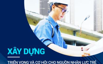 Xây dựng – Triển vọng và cơ hội cho nguồn nhân lực trẻ