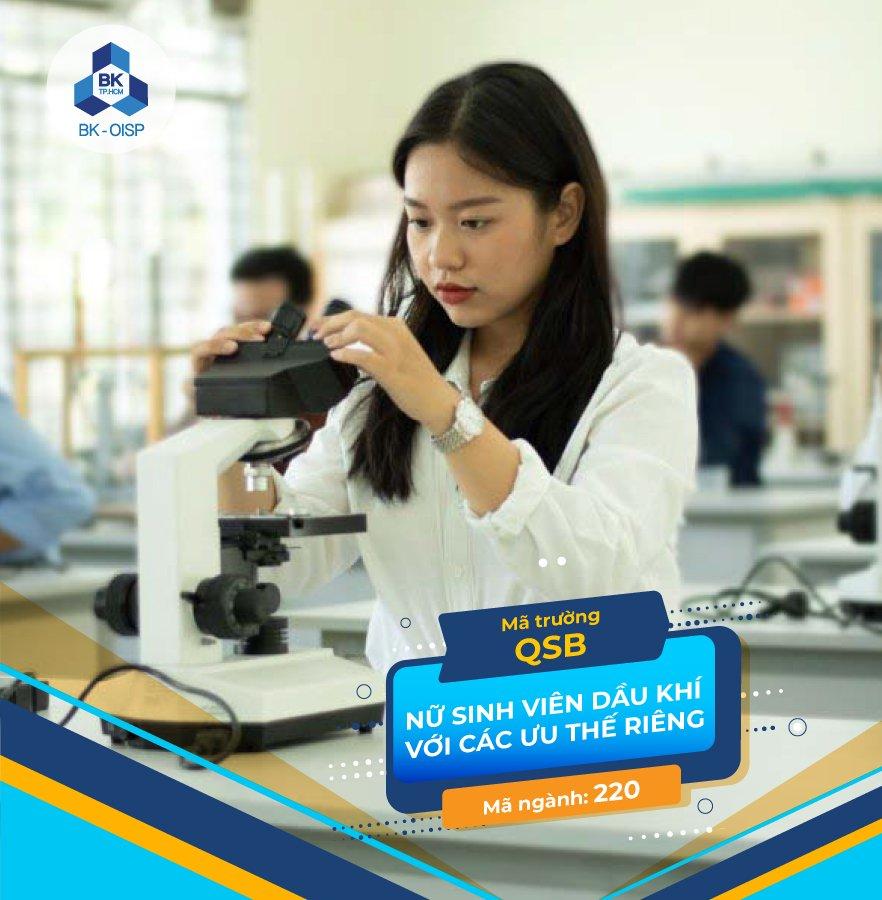 Ưu thế đặc biệt của nữ sinh viên ngành Kỹ thuật Dầu khí