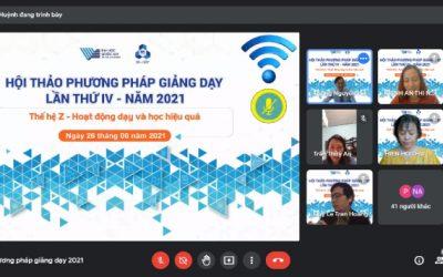 Hội thảo Phương pháp giảng dạy lần thứ IV năm 2021