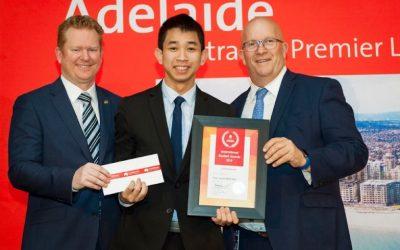 SV quốc tế xuất sắc nhất bang Nam Úc: CT Chuyển tiếp Quốc tế là lựa chọn hoàn hảo