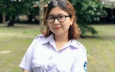 Nguyễn Thị Cẩm Tú - Cô nàng thủ lĩnh SV năng động, bản lĩnh của Khoa Quản lý Công nghiệp
