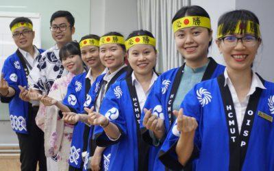 OISP tiếp tục nhận được tài trợ từ giáo dục từ Japan Foundation