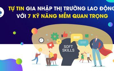 Tự tin gia nhập thị trường lao động với 7 kỹ năng mềm cần thiết