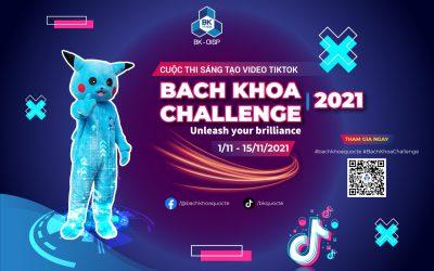 Cuộc thi video TikTok Bach Khoa Challenge 2021 tưng bừng khởi động